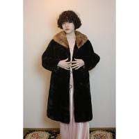 1950s Brown fur coat