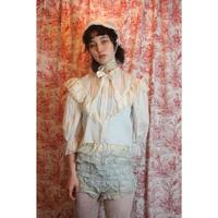 Antique ruffle blouse