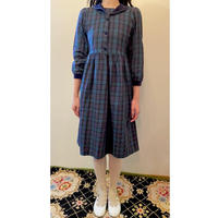 tartan check kids dress