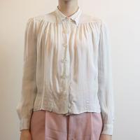 1930s Glass Buttons Shirt
