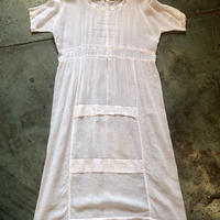 Edwardian dress ladder lace