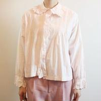 Antique Pink Cotton Blouse