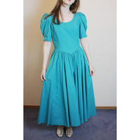 D776 -  Laura Ashley turquoise dress