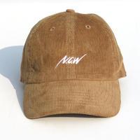 NCW CORDUROY CAP