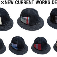 HIGHER×NEW CURRENT WORKS DENIMHAT