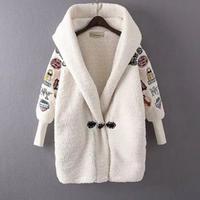 刺繍 コート