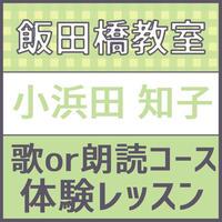 飯田橋 5月15日水曜日14時限定 講師 こはまだともこ