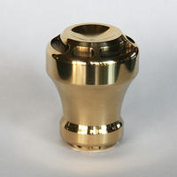 Jockey shift lever knob type-B brass