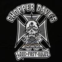 CHOPPER DAVE'S  A-type T-shirt