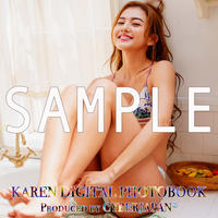 KAREN DIGITAL PHOTO BOOK(デジタル写真集)Vol.1