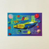3Dポストカード「DINOSAUR ROKET」/吉田和夏