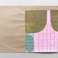 ドローイング 梱包紙-09 / ナガバサヨ