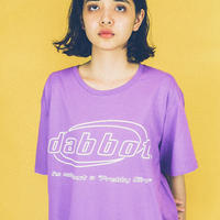 big logo tee (purple)