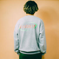 NEW BIG BACK LOGO SWEAT(gray)