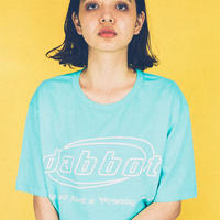 big logo tee (mint)