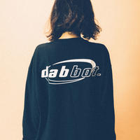 back&sleeve logo long-tee(black)