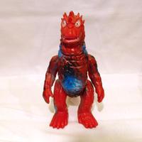 当時物 ブルマァク バラン STサイズ 赤色成型 怪獣ソフビ