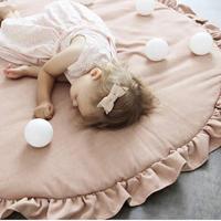 プレイマット ベビーマット サニーマット ラウンドマット インスタ映え 大きい かわいい 赤ちゃん ベビー リボーンドールにも