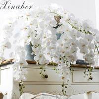 大輪 白い胡蝶蘭 アートフラワー 大きい造花 花束やアレンジメントにも プレゼント ギフト お祝い プリザーブドフラワー 誕生日 女性