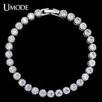 UMODE テニスブレスレット 高品質AAA+クラスCZダイヤモンド ヨーロッパで大人気 / ティファニー スワロフスキー お好きな方に