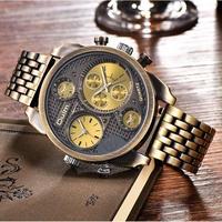 Oulm メンズ腕時計 クォーツ アンティーク 人気 海外ブランド
