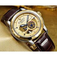 Nesun メンズ腕時計 機械式 自動巻き トゥールビヨン 防水 海外ブランド 人気