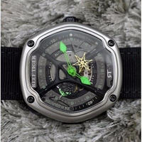 Reef Tiger メンズ腕時計 機械式 海外ブランド スポーツ 防水 クリエイティブデザイン