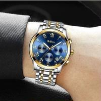 BIDEN メンズ腕時計 クロノグラフ クォーツ 日付 海外限定品