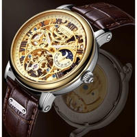 Nesun メンズ腕時計 機械式 自動巻き スケルトン 海外ブランド 日本未発売