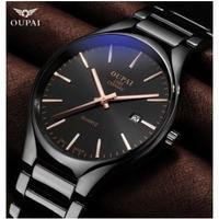 Oupai メンズ腕時計 クォーツ カレンダー 人気 日本未発売 海外限定品