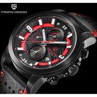 PAGANI DESIGN メンズ腕時計 クォーツ クロノグラフ 防水 自動日付 海外輸入品 人気