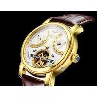 GUANQIN メンズ腕時計 機械式 トゥールビヨン 高級腕時計 海外ブランド 日本未入荷