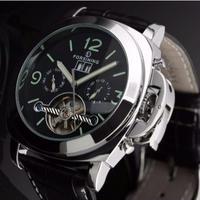 FORSINING メンズ腕時計 機械式自動巻き 防水 発光 日本未発売