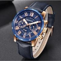 BENYAR メンズ腕時計 クォーツ クロノグラフ 自動日付 防水 海外ブランド