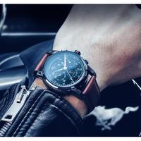 CARNIVAL メンズ腕時計 機械式 自動巻き ムーンフェイズ 自動日付 防水