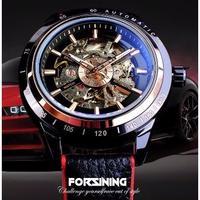 FORSINING 機械式 自動巻き 防水 スケルトン 海外ブランド 高級腕時計