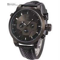 SHARK SPORT WATCH メンズ腕時計 クォーツ式 耐水性 自動日付 海外限定品  人気