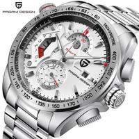 PAGANI DESIGN メンズ腕時計 クォーツ クロノグラフ 自動日付 防水 高級腕時計