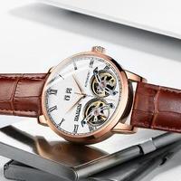 HAIQIN メンズ腕時計 機械式 自動巻き防水 海外限定品 海外ブランド