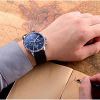 PAGANI DESIGN メンズ腕時計 クォーツ クロノグラフ 自動日付 防水