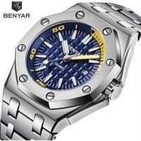 BENYAR メンズ腕時計 クォーツ 防水 高級腕時計