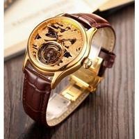 NoEnName Null メンズ腕時計 機械式 自動巻き トゥールビヨン 防水 高級腕時計 海外限定