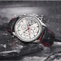 PAGANI DESIGN メンズ腕時計 クォーツ クロノグラフ 防水 日本未入荷 海外ブランド 人気
