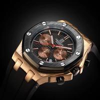 TORBOLLO メンズ腕時計 クォーツ クロノグラフ 自動日付 防水 海外ブランド