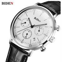 BIDEN メンズ腕時計 クォーツ クロノグラフ 防水 高級腕時計