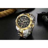 TEMEITE メンズ腕時計 クォーツ クロノグラフ 日付表示 防水 人気 海外ブランド