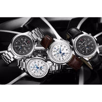 GUANQIN メンズ腕時計 機械式 自動巻き 防水 海外ブランド カジュアル  高級腕時計