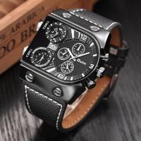 Oulm メンズ腕時計 クォーツ スポーツ 海外輸入品 日本未発売