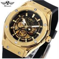 T-WINNER メンズ腕時計 機械式 スケルトン
