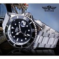 T-WINNER メンズ腕時計 機械式 自動巻き 海外ブランド メンズファッション